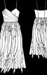 Сукня на бретелях-спагеті - фото 3