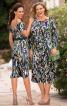 Сукня на бретелях і з розрізами на рукавах - фото 1