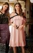 Сукня на бретелях і з широкими воланами - фото 1