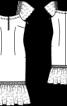 Сукня з мереживними рукавами-крильцями - фото 3