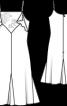 Сукня в білизняному стилі на бретелях-спагеті - фото 3