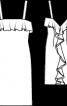 Сукня з широким воланом на спинці - фото 3