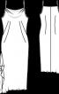 Сукня з шовкового крепу на бретелях - фото 3
