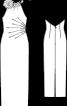 Сукня вечірня з американською проймою - фото 3