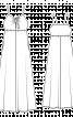Сукня силуету ампір на бретелях - фото 3