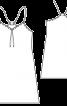 Сукня міні на бретелях-спагеті - фото 3