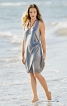 Сукня на бретелях і з драпіровкою - фото 1