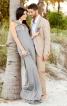 Сукня розкльошеного силуету з подвійними бретелями - фото 1