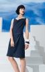 Сукня з хвилеподібним вирізом горловини - фото 1