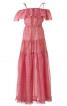 Сукня довга з вирізом кармен - фото 2