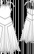Сукня з гострокутовою спідницею - фото 3