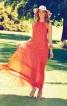 Довга сукня з американською проймою - фото 1
