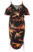 Сукня вузького крою на бретелях - фото 2