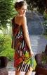 Сукня на одне плече з максі-воланами - фото 4