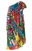 Сукня на одне плече з максі-воланами - фото 2