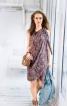 Сукня-бюстье з відлітними деталями - фото 1