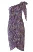 Сукня-бюстье з відлітними деталями - фото 2