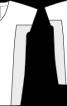 Сукня О-силуету з рукавами кімоно - фото 3