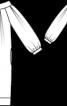 Сукня О-силуету з вирізом кармен - фото 3