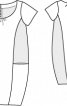 Сукня-балон сатинова - фото 3