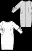 Сукня шовкова О-силуету - фото 3