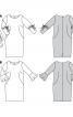 Сукня шовкова О-силуету з воланами - фото 5