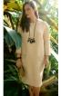 Сукня О-силуету з бахромою - фото 1