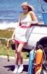 Сукня міні з рельєфними швами - фото 1