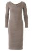 Сукня з хвилеподібним вирізом горловини - фото 2