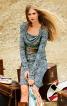 """Сукня з вирізом горловини """"водоспад"""" - фото 1"""