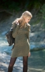 Сукня з суцільнокроєним коміром - фото 1