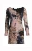 Сукня міні з глибоким вирізом на спинці - фото 2