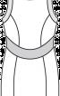 Сукня міні з рельєфними швами - фото 3