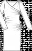 Сукня по фігурі з ефектом запаху і драпіровками - фото 3