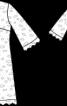 Сукня весільна мереживна А-силуету - фото 3