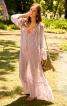 Сукня просторого крою з рукавами-реглан - фото 1