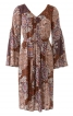 Сукня зі складками і рукавами-розтрубами - фото 2