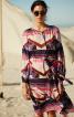 Сукня просторого крою з рукавами-балон - фото 1
