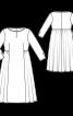 Сукня лляна з широкою спідницею - фото 3