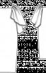 Сукня округлого силуету з рукавами-крильцями - фото 3