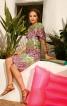 Сукня округлого силуету з рукавами-крильцями - фото 1