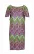Сукня округлого силуету з рукавами-крильцями - фото 2