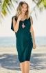 Сукня з проймами в плечових швах - фото 1