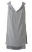 Сукня міні з перекрученими бретелями - фото 2