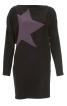 Сукня міні з глибоко вшитими рукавами - фото 2