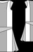 Сукня в стилі колор-блокінг в дусі 20-х - фото 3