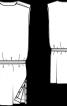 Сукня простого крою з креп-сатину - фото 3