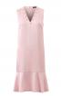 Сукня з воланом і V-подібним вирізом - фото 2