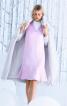 Сукня з воланом і V-подібним вирізом - фото 1