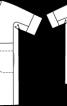 Сукня прямого крою з рукавами кімоно - фото 3